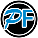 PF ICON BUTTON BLACK BLUE
